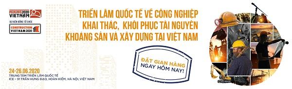 trien lam Mining Construction Vietnam 2020